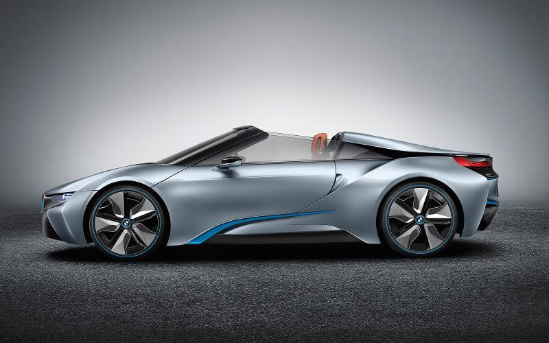 BMW i8 Spyder development is challenging