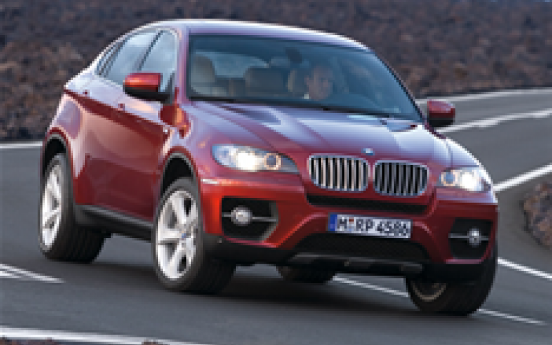 BMW X6: pictures, details and video