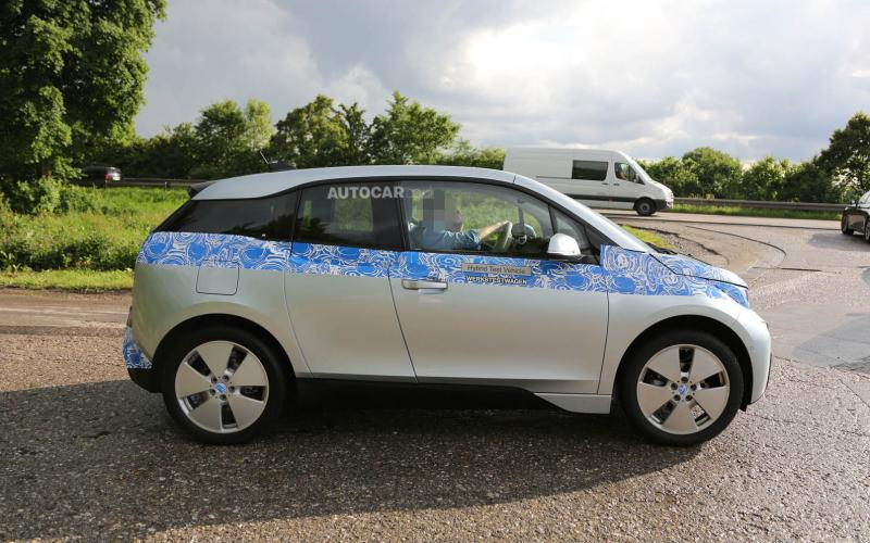 BMW i3 spotted during final testing