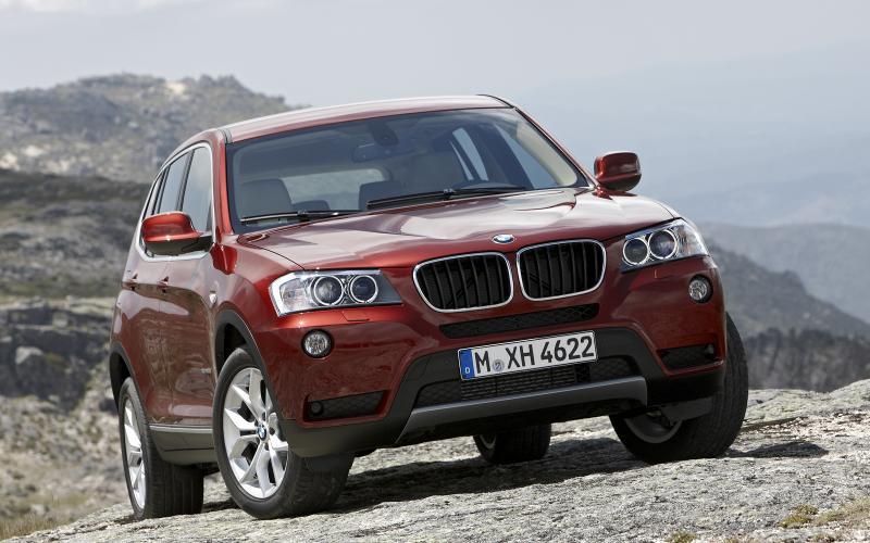 Paris motor show: BMW X3