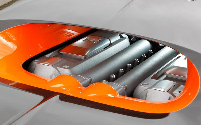 Bugatti Veyron engine cover