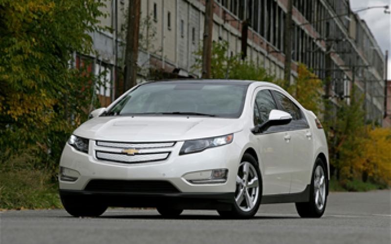 Chevy Volt priced at £28,545