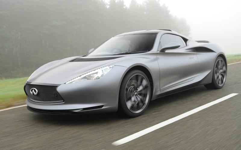 Infiniti supercar due within five years