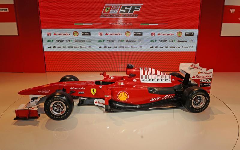 Ferrari launches 2010 F1 car