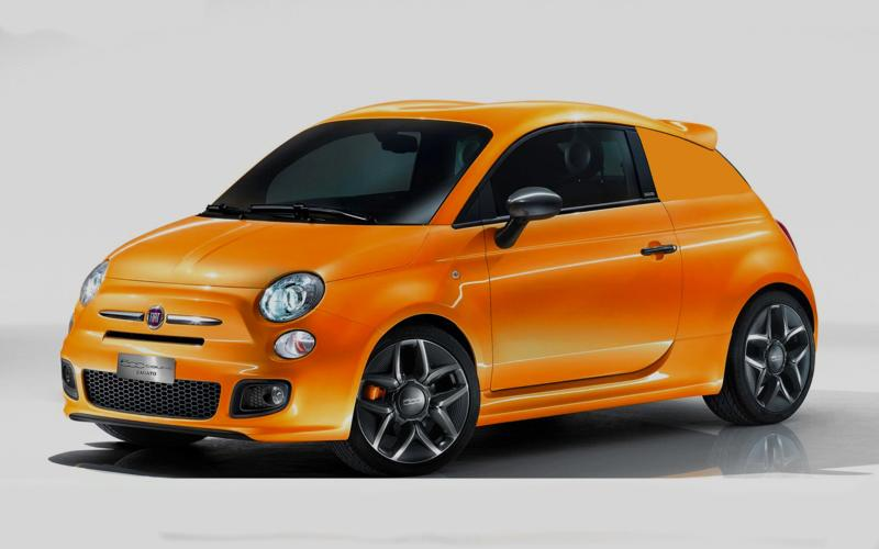 One-off 4x4 Fiat 500 unveiled