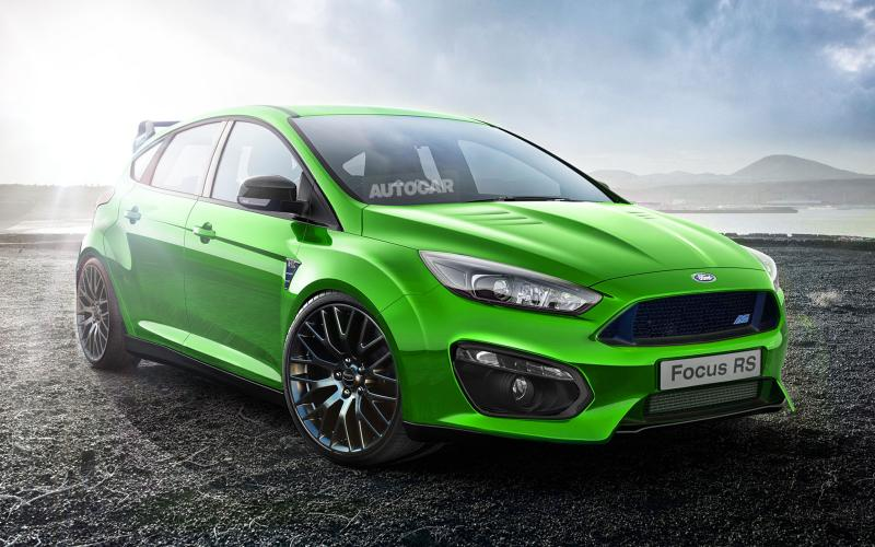 New Ford Focus RS confirmed for production