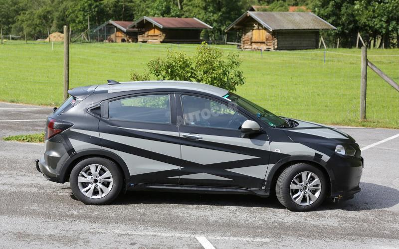 honda puts final touches to new compact suv autocar. Black Bedroom Furniture Sets. Home Design Ideas