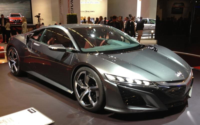 Honda NSX aims for 'excitement of a 458 at the price of a 911'