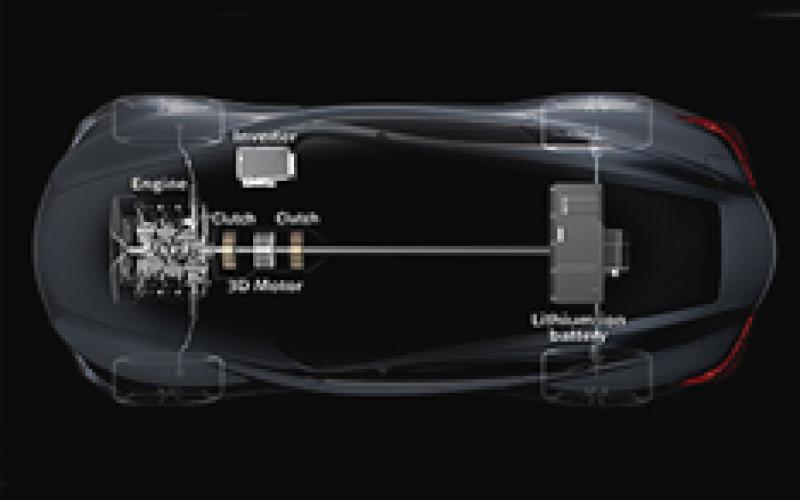 Infiniti M hybrid for Europe