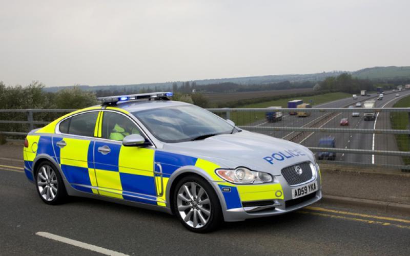 Jaguar XF police car launched