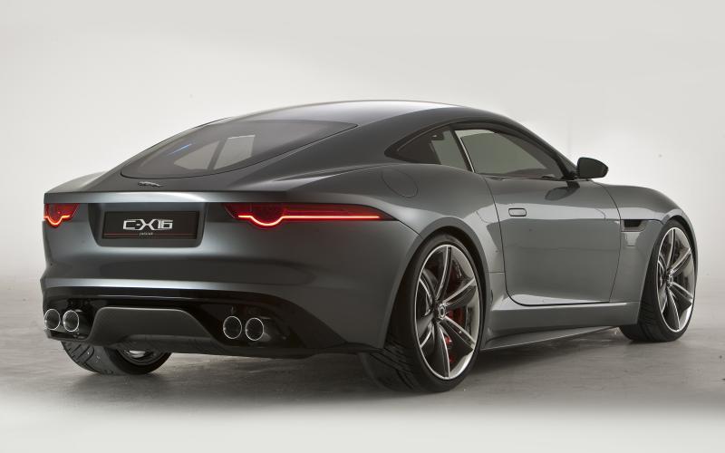 Jaguar confirms leaked images show original C-X16 coupé concept