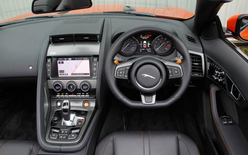 Jaguar F Type Convertible Review Autocar