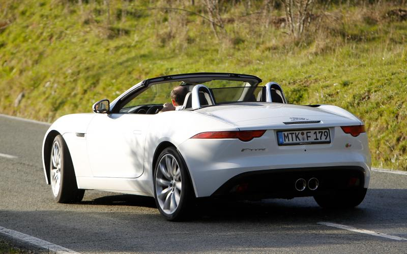 Jaguar F-type V6 S first drive review