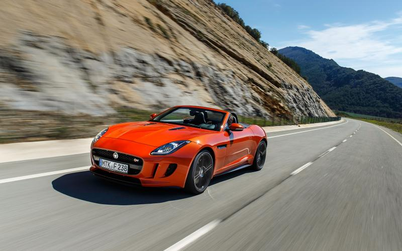 Jaguar F-type V8 S first drive review