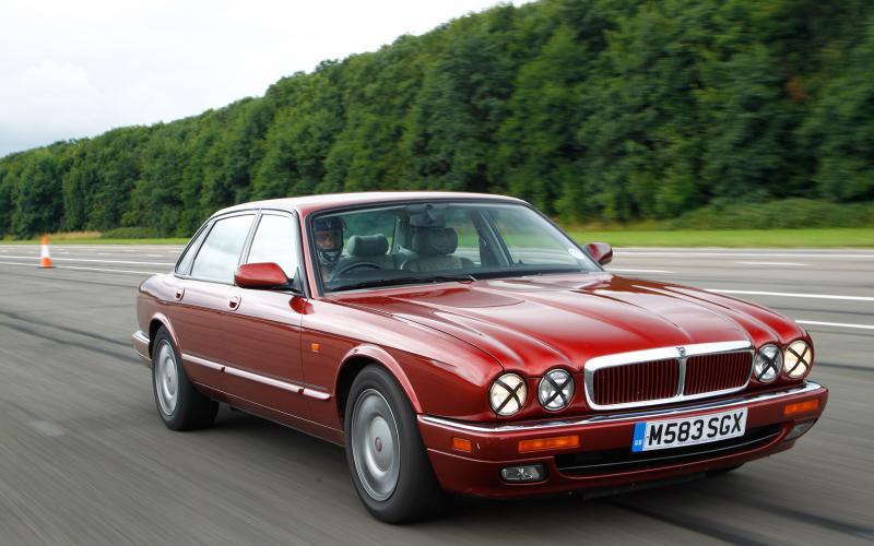 Flat out in a £500 Jaguar