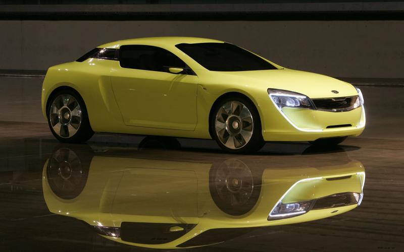 Kia plans Audi A5 rival