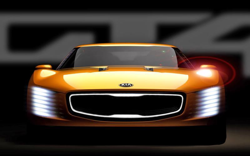 Kia GT4 Stinger concept set for Detroit motor show reveal