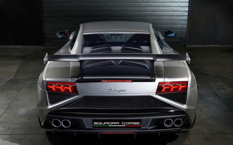 Frankfurt motor show 2013: Lamborghini Gallardo LP 570-4 Squadra Corse