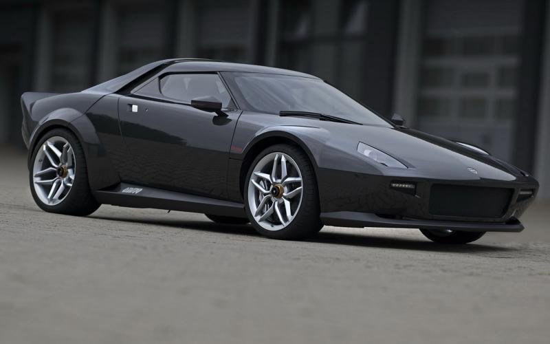 New Lancia Stratos - latest pics