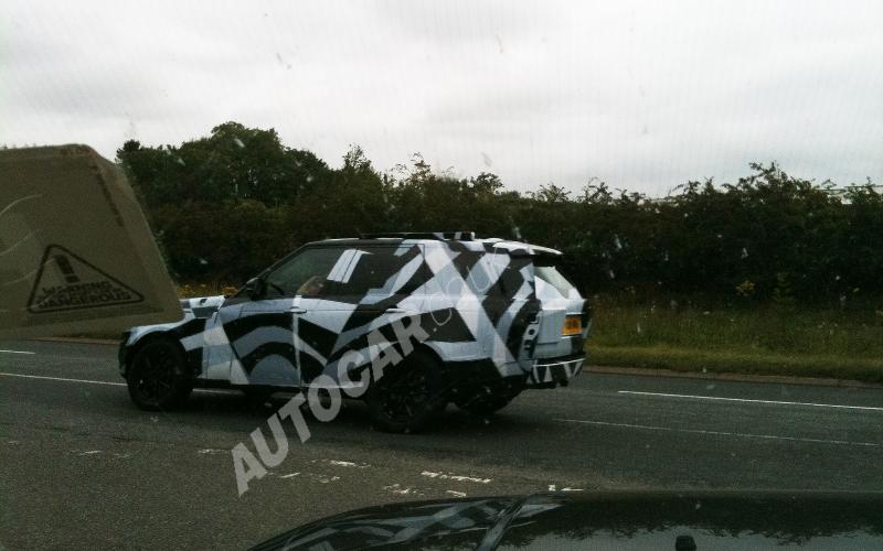 Evoque styling for next Rangie