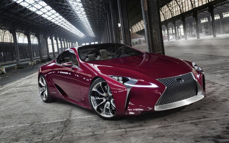 Lexus ponders LF-LC production