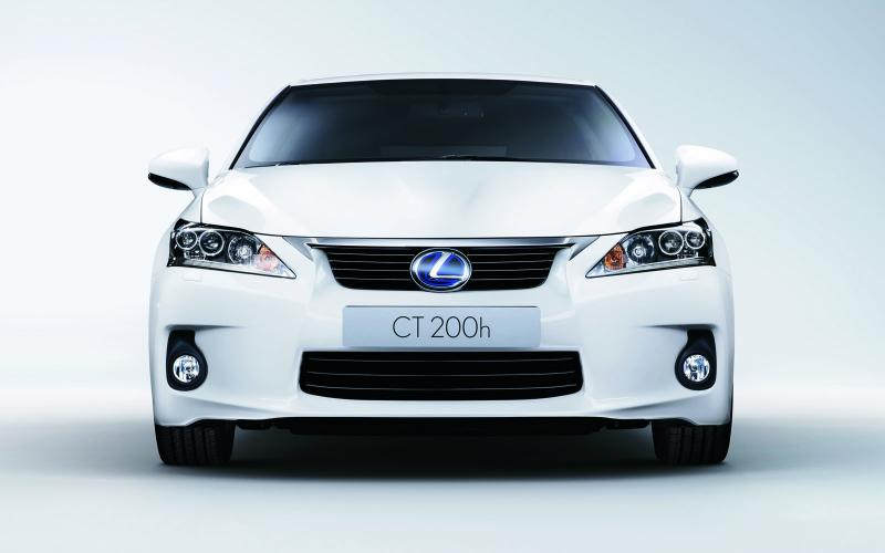 Lexus CT200h - new pics