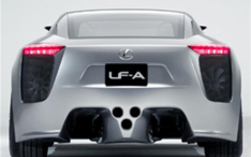 Hybrid Lexus supercar on the way