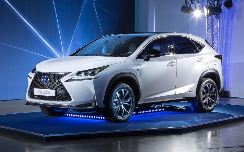 New Lexus NX targets Q5, X3 and Evoque