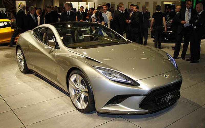 Paris motor show: Lotus Elite