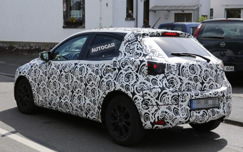 New Mazda 2 spotted ahead of 2015 launch