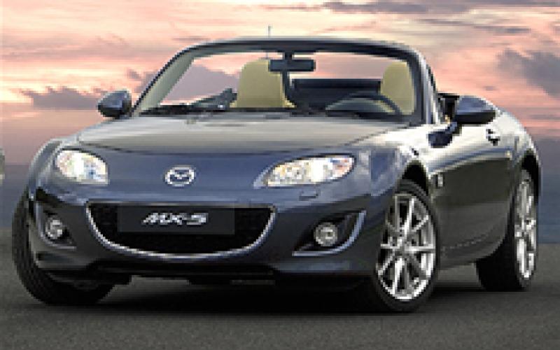 Mazda MX-5 gets lighter