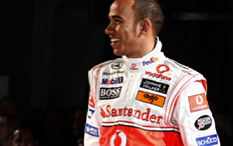 Lewis signs £70million McLaren contract