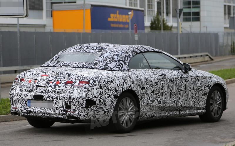 Mercedes S-class cabriolet in development