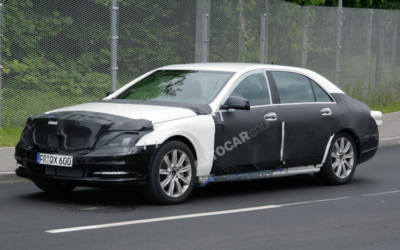 Merc plans new S-class in 2012