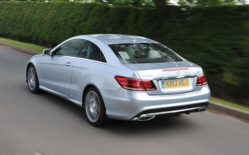 Mercedes E220 CDI AMG Sport Coupe first drive review