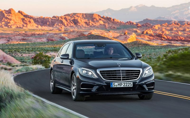 New Mercedes S-class 'Pullman' targets Rolls Royce