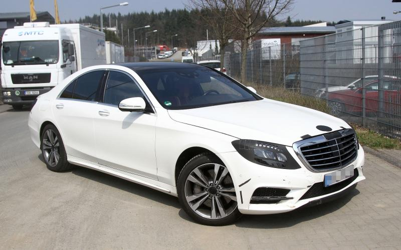 New Mercedes-Benz S-class image leaked