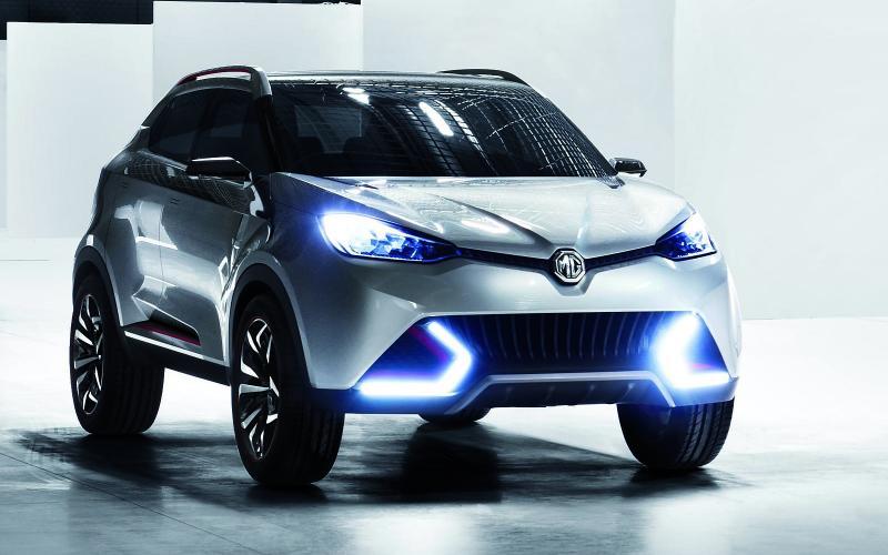 MG CS Concept SUV: Shanghai motor show