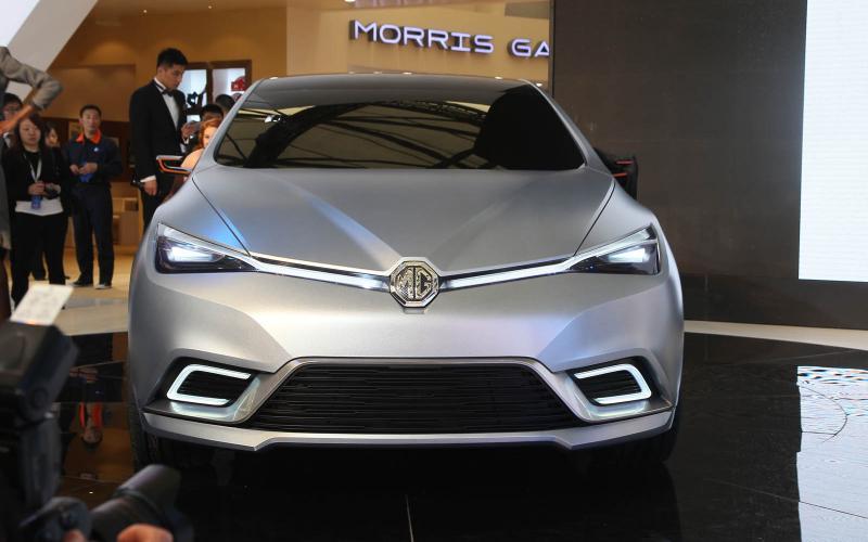 Shanghai motor show: MG 5