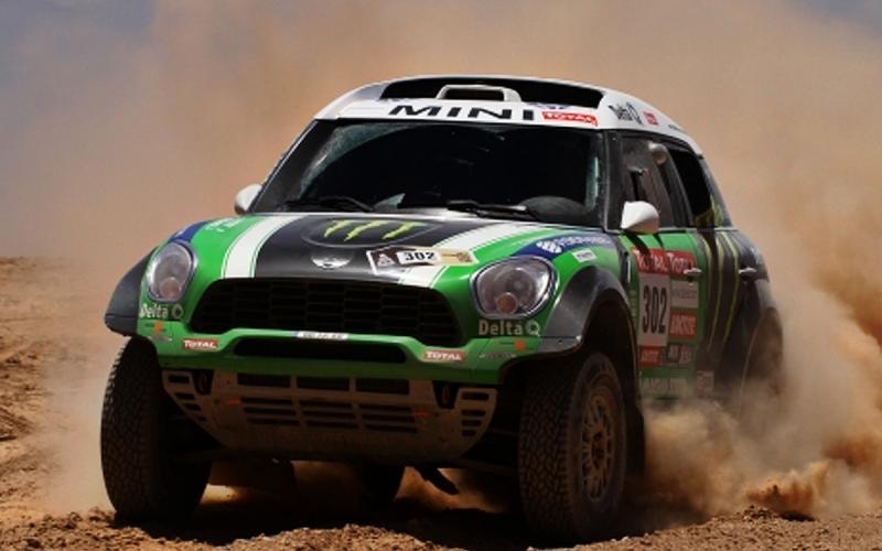 Modified Countryman wins Dakar