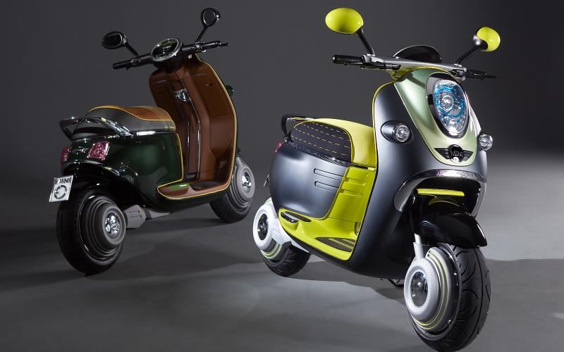 Paris motor show: Mini Scooter E