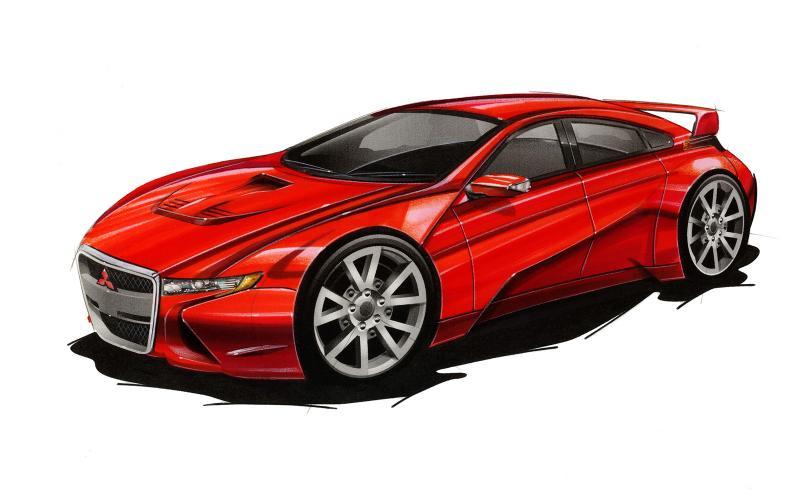 Mitsubishi Evo XI to go hybrid