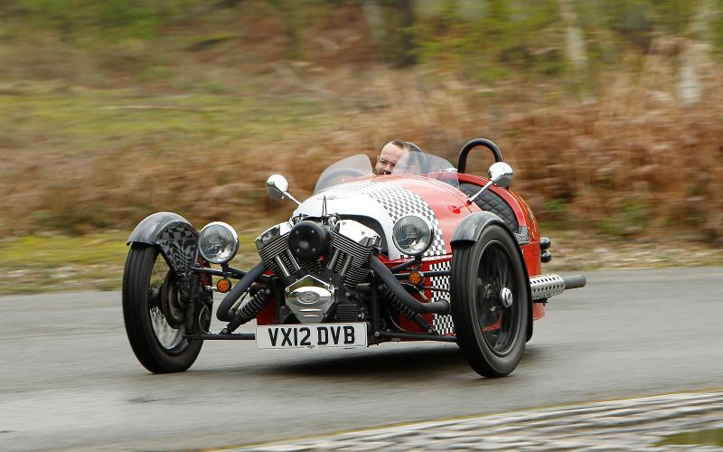 Morgan 3 Wheeler updated for 2014