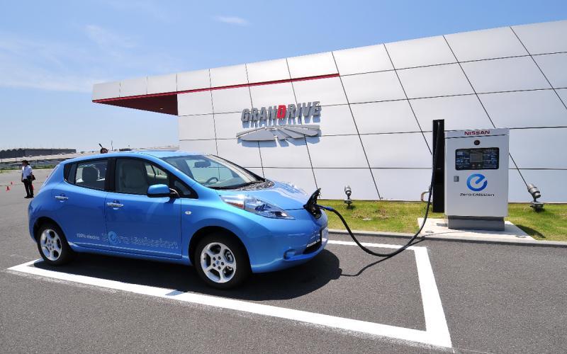 Nissan Leaf on sale 1 September