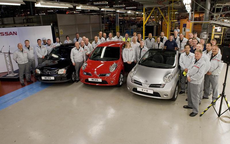 Micra UK production ends