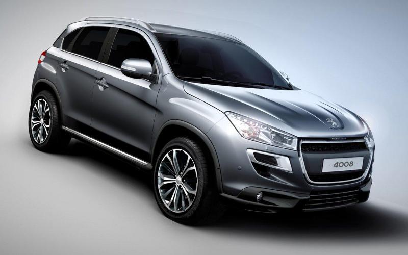 Peugeot 4008 SUV revealed
