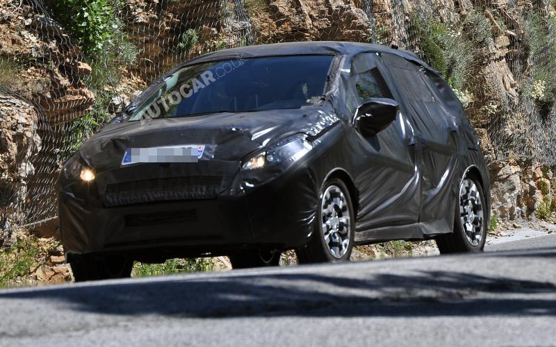 'Elegant' new Peugeot 208 spied