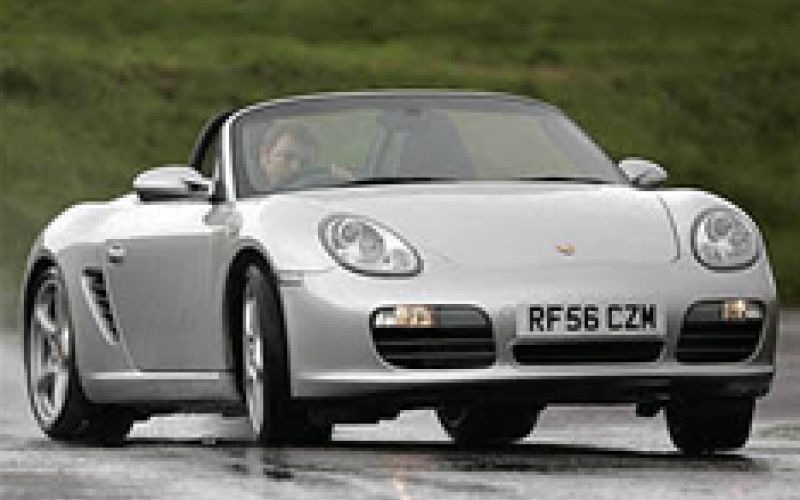 Four-cyl Porsche Boxster by 2011