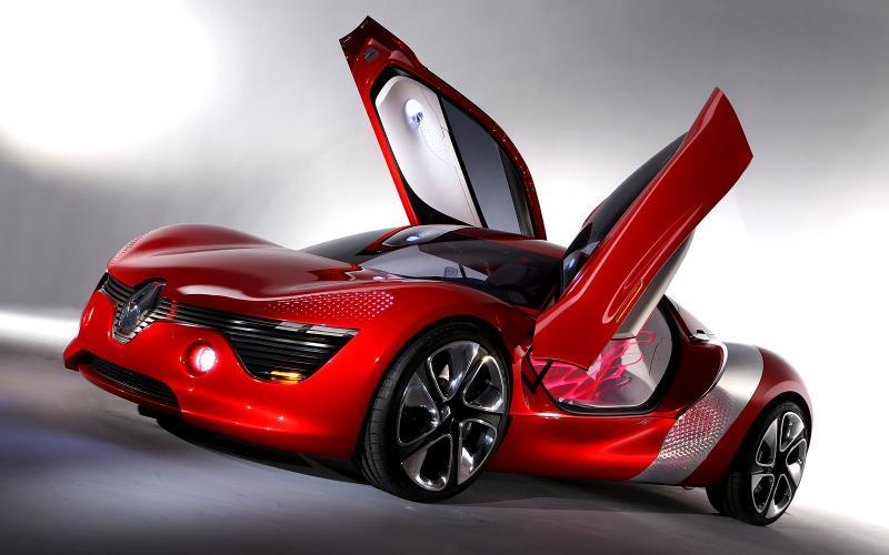 Paris motor show: Renault DeZir