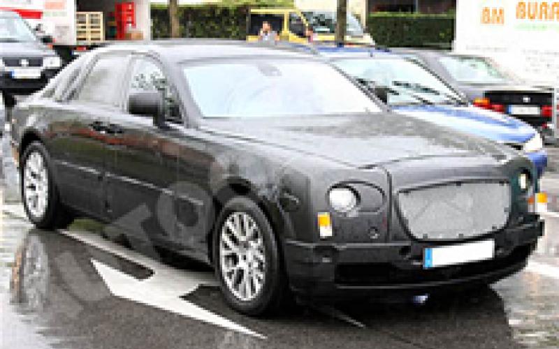 Spied: Rolls Royce RR4
